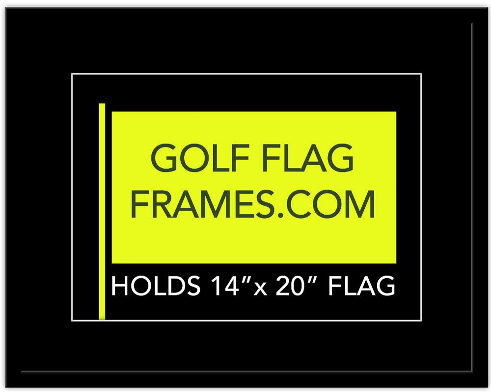 21 215 27 Frame To Hold 14 215 20 Flag Shadowbox Black Color