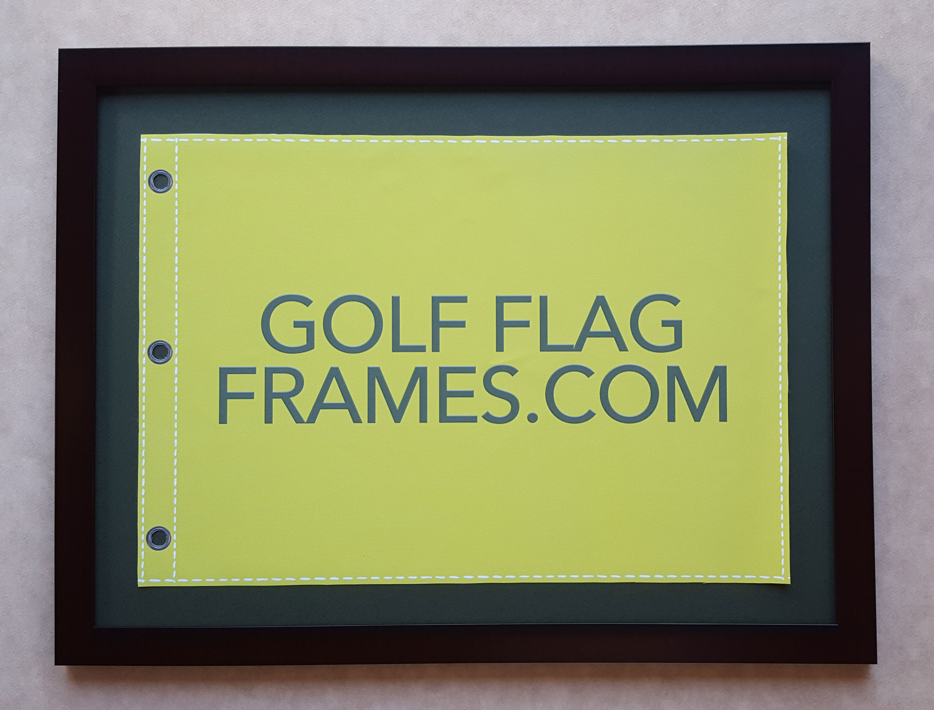 Qty 30 17 215 23 Frame To Hold 14 215 20 Flag Mahogany Color