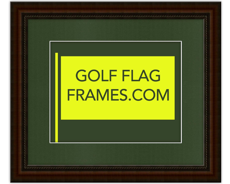 Custom Size Brown Flag Frame Moulding Brn 004 Choice Of