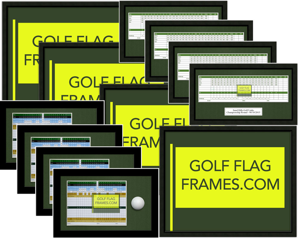 Tournament Package Variety Pack A Golfflagframes