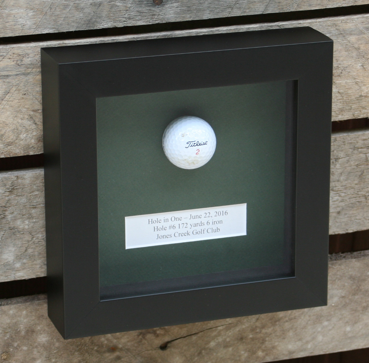 Golf Ball Frames Golfflagframes