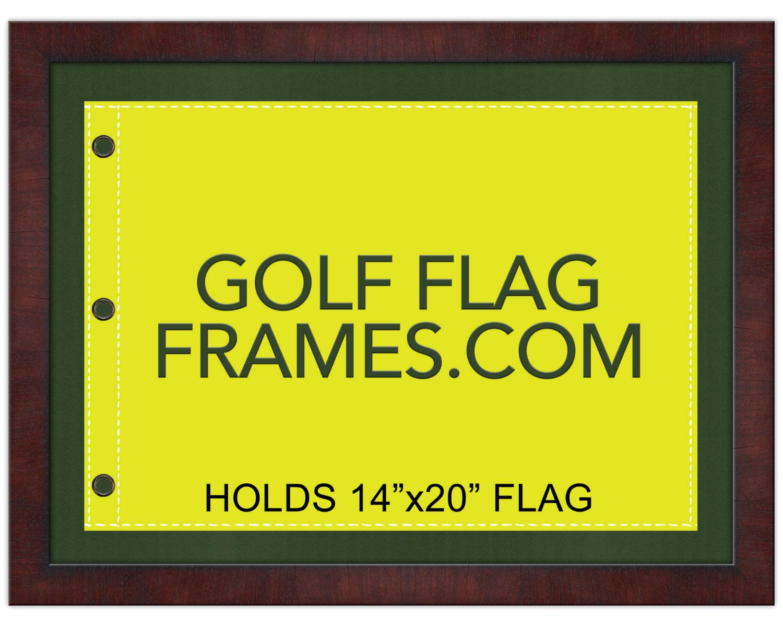 17 215 23 Brown Frame To Hold 14 215 20 Golf Flag Moulding Brn