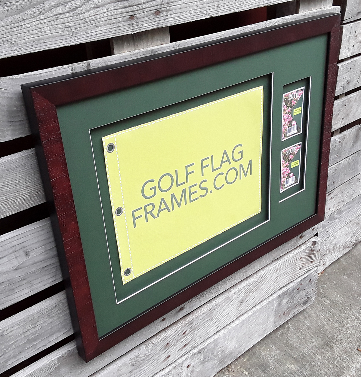 13×17 Golf Flag Golf Ticket Float Frame – Perfect Size for a ...